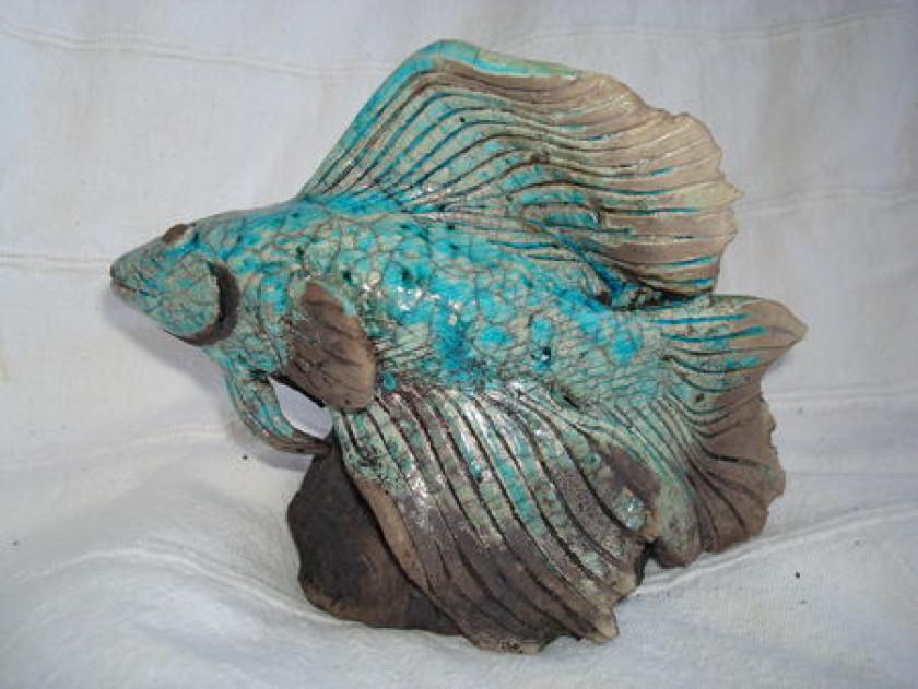 Céramique réalisée à la main par Samoa Raku
