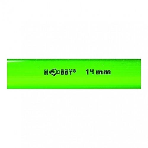 Tube rigide vert 14mm extérieur 1m HOBBY