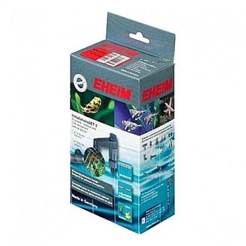 Canne de rejet (refoulement) noire EHEIM SET 2 pour tuyau 12-16mm