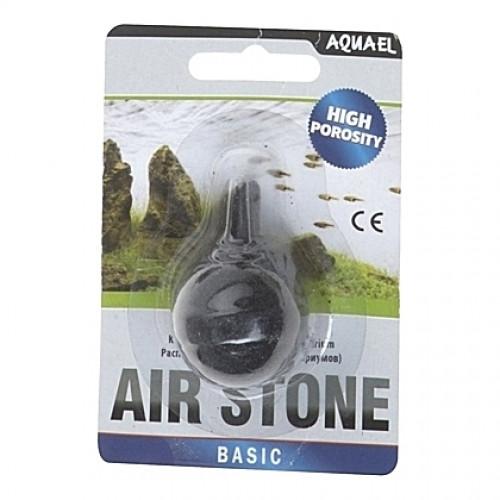 Diffuseur noir boule noire AQUAEL AIR STONE haute porosité - diamètre 30mm
