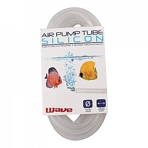 Tuyau à air en silicone transparent Amtra/Wave 4-6mm - 250cm