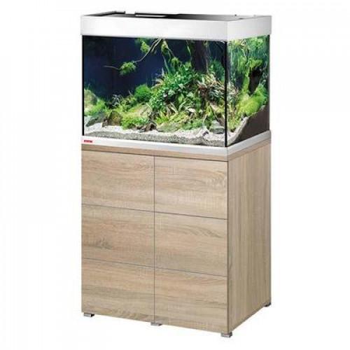 Aquarium EHEIM Proxima + Meuble (Chêne) - 175l