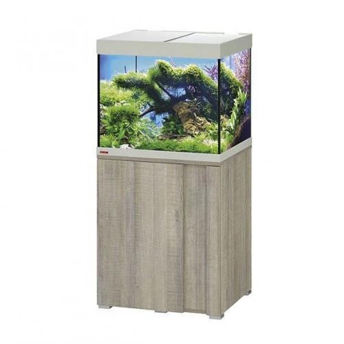 Aquarium EHEIM Vivaline + Meuble (Chêne gris) - 150l