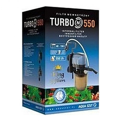 Filtre interne AQUAZSUT TURBO N 550 (aquarium <150L) 550l/h
