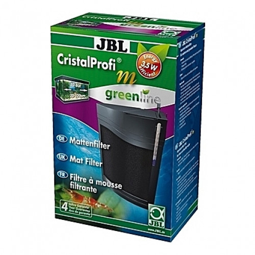 Filtre interne d'angle CristalProfi m greenline JBL (aquarium <80L) 200 l/h
