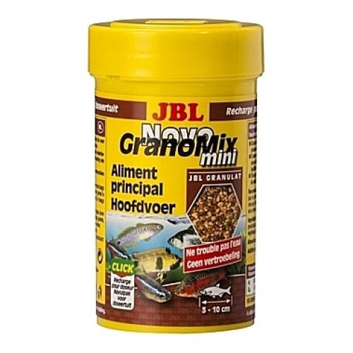 Granulés aliments principaux JBL Novo GranoMix mini recharge 100ml