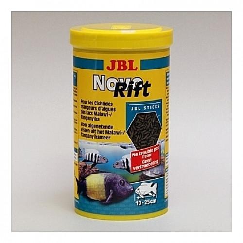 Bâtonnets pour cichlidés alguivores Malawi Tanganyika JBL NovoRift 1L