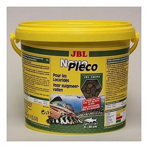 Comprimés pour locaridés JBL NovoPleco Chips 5,5L
