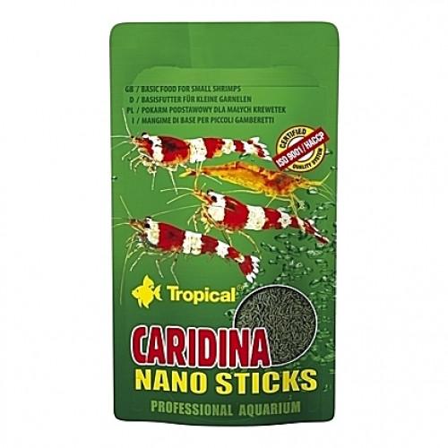 Alimentation complète pour crevettes CARIDINA NANO Sticks 10g