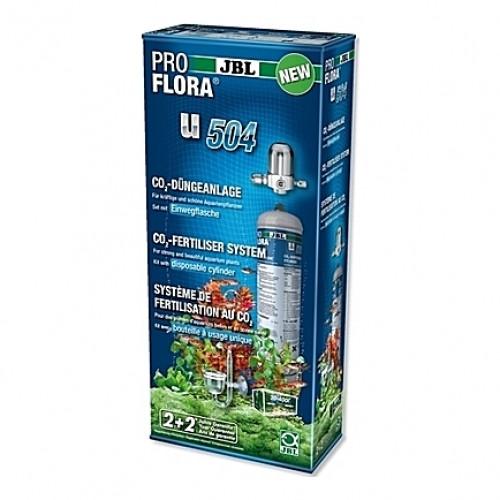 Kit CO2 complet (bouteille jetable) JBL Proflora u504 - 500g (aquarium <400L)