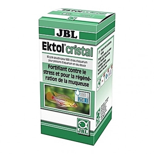 Anti-parasitaires et maladies bactériennes JBL Ektol Cristal - 80g (=800L)