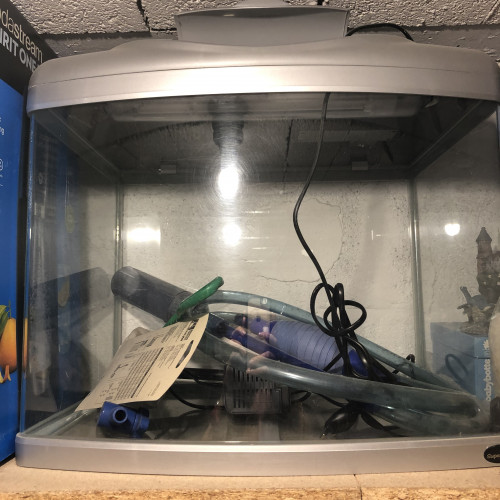 Aquarium Aqua 60 Silver