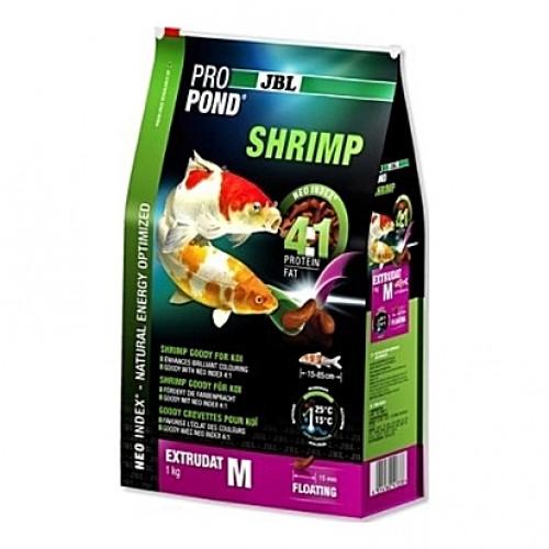 Crevettes flottantes JBL ProPond Shrimp Taille M (15mm) - 0,34Kg