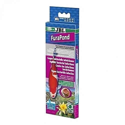 Contre les infections bactériennes JBL FuraPond - 24 tablettes