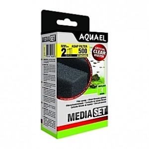 2 Mousses standard pour filtre AQUAEL ASAP 500