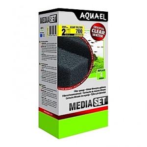 2 Mousses standard pour filtre AQUAEL ASAP 700