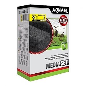 2 Mousses standard pour filtre AQUAEL FAN 3