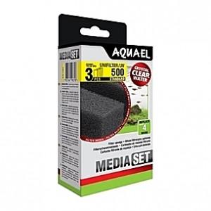 3 Mousses pour filtre AQUAEL UNIFILTER 500/UV