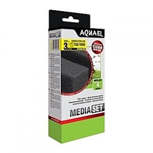3 Mousses pour filtre AQUAEL UNIFILTER 750/1000/UV