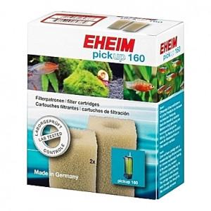 2 Cartouches filtrantes (mousses blanches) pour filtre EHEIM pickup 160 (EHEIM 2006)