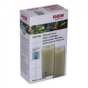 2 Cartouches filtrantes (mousses blanches) pour filtre EHEIM pickup 200 (EHEIM 2012)