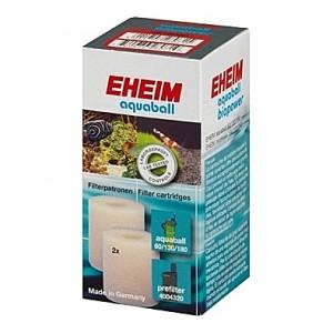 2 Mousses blanches pour filtre EHEIM aquaball 60/180 et Biopower 160/240 (EHEIM 2208-10-12- 2401-02-03)