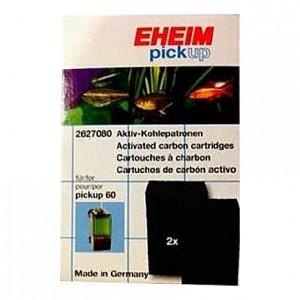 2 Mousses de charbon actif pour filtre EHEIM PickUp 60 (EHEIM 2008)