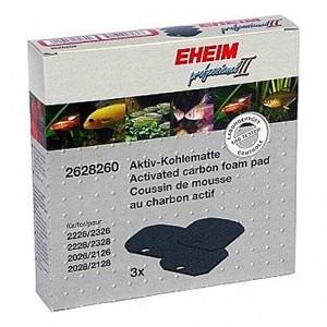 3 Mousses de charbon actif pour filtre EHEIM eXperience 150/250 (EHEIM 2222-24/2422-24)