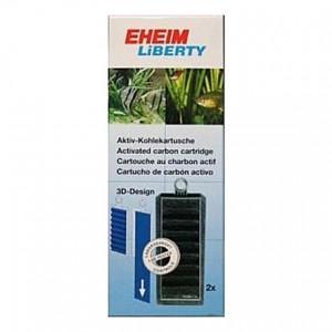 2 Cartouches de charbon actif pour filtre EHEIM Liberty 2040/2041/2042