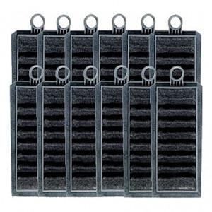 12 Cartouches de charbon actif pour filtre EHEIM Liberty 2040/2041/2042