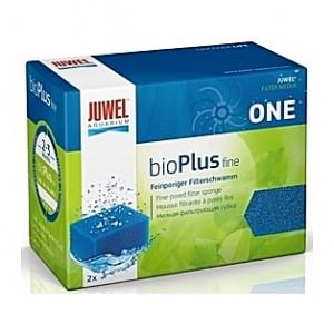 2 Mousses bleues fines bioPlus Taille S pour filtre JUWEL Bioflow One