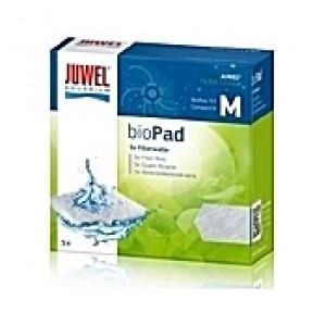 5 Ouates (perlon) compactes filtrantes bioPad Taille M pour filtre JUWEL Bioflow 3