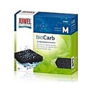 2 Mousses compactes de charbon actif bioCarb Taille M pour filtre Bioflow 3