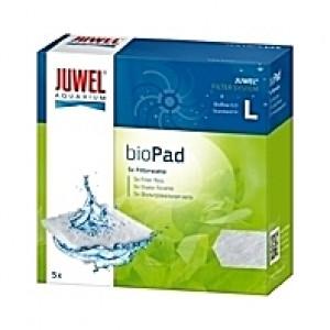 5 Ouates (perlon) compactes filtrantes bioPad Taille L pour filtre JUWEL BioFlow 6