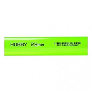 Tube rigide vert 22mm extérieur 1m HOBBY