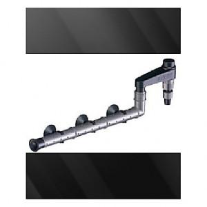 Canne de rejet (refoulement) noire EHEIM SET 2 pour tuyau 16-22mm