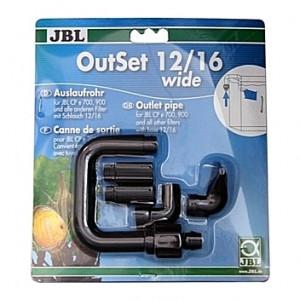 Canne de rejet/refoulement JBL OutSet wide pour CristalProfi e401/701/e901