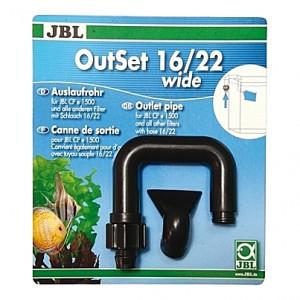 Canne de rejet/refoulement JBL OutSet wide pour CristalProfi e1501