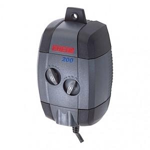 Pompe à air EHEIM avec tuyau (2m) et 2 diffuseurs - 200l/h