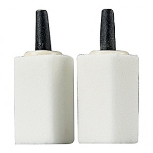 2 Diffuseurs blancs en céramique HOBBY - 30x15x15mm