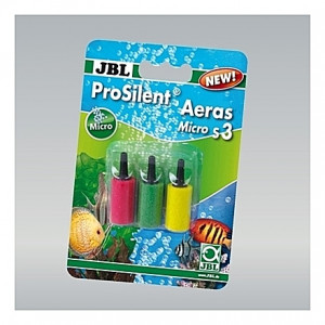 3 Diffuseurs à air multi couleurs JBL ProSilent Aeras Micro S3