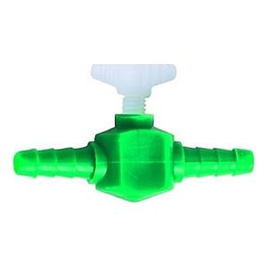2 Robinets plastiques pour tuyau 4/6mm
