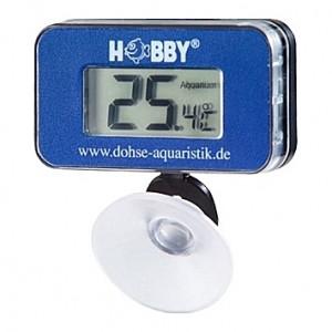Thermomètre digital à pile avec ventouse HOBBY