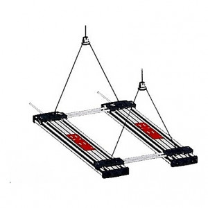 Double suspensions pour EHEIM powerLED+