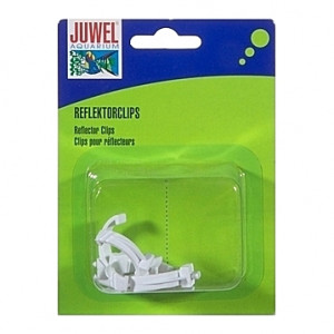 4 Clips plastiques pour réflecteur T5 JUWEL