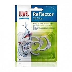 4 Clips T8 pour réflecteur JUWEL HiFlex T8