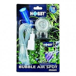 Spot de lumière submersible (LED bleue) 1W HOBBY BUBBLE AIR SPOT moon