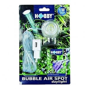 Spot de lumière submersible (LED blanche) 1W HOBBY BUBBLE AIR SPOT daylight