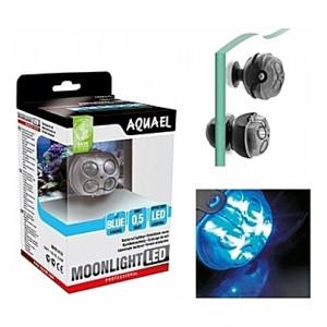 Spot de lumière submersible (LED bleue) 1W AQUAEL MOONLIGHT LED