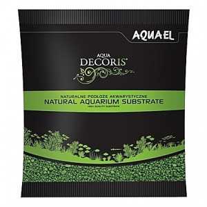 Gravier vert AQUAEL AQUA DECORIS - 2 à 3mm - 1Kg